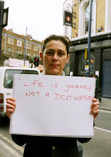 Life is journey not a destination.
