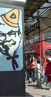 Dunce, KFC Brixton road