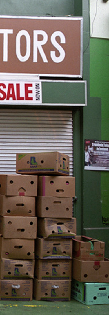 Boxes have faces too, Market Row