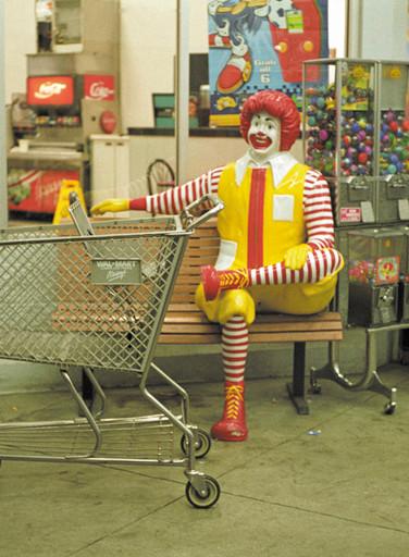 Walmart, shopping at 3am