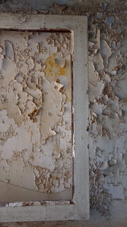 Framing the paint peels