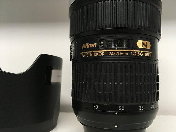 24-70MM NIKON F2.8
