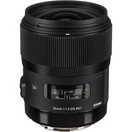 Objectif Sigma 35mm f / 1.4 DG HSM Art pour Canon EF