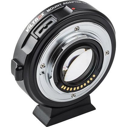 Adaptateur  Viltrox EF-M2 II Canon EF vers M4/3