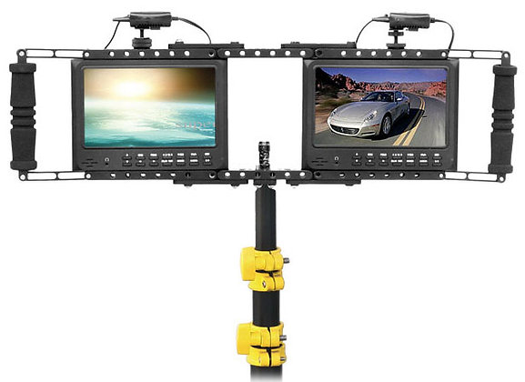 Director's double Monitor Cage FOR LCD Monitor