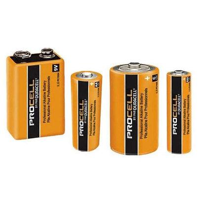 Batterie PROCELL 9V, AA, C