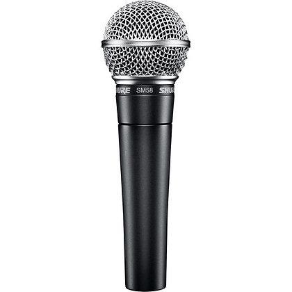 Microphone dynamique Shure SM58-LC