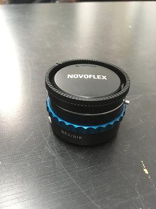 Novaflex Sony E-Mount  to Nikon