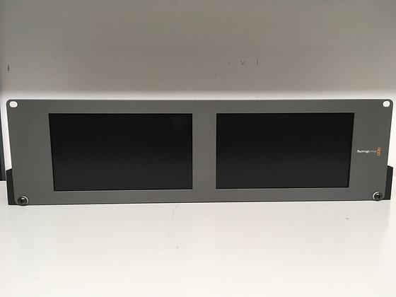 Moniteur Double Blackmagic 8 pouces-HDMI