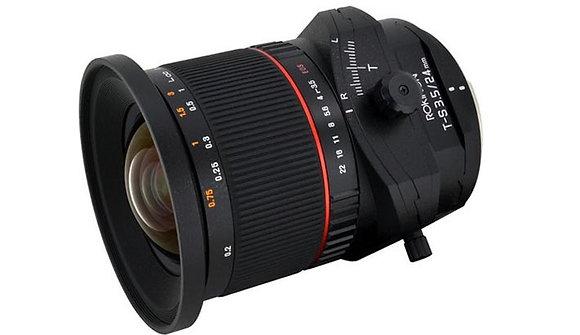 ROKINON Tilt-shift 24mm f/3.5  EF