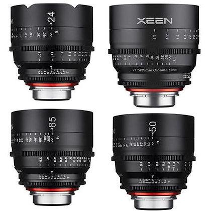 Rokinon Xeen Cine pour Canon EF 24/ 35 / 50/ 85mm T.5