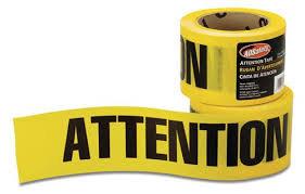 Rouleau Attention/Caution