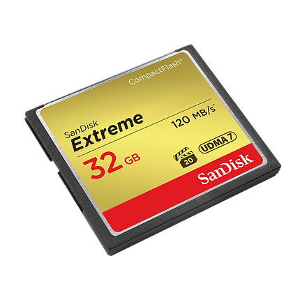 32G Compact flash Extreme 120mb/s