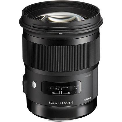 Objectif Sigma 50mm f / 1.4 DG HSM Art pour Canon EF