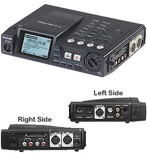 TASCAM HD P2 Portable Digital Audio Recorder - Hig