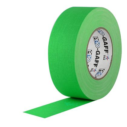 Gaffer tape Green Chroma Key 1'' et 2''
