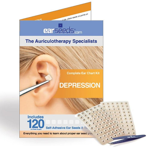 Auriculotherapy / Ear Acupressure - Depression Kit