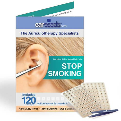 Auriculotherapy / Ear Acupressure - Stop Smoking Kit
