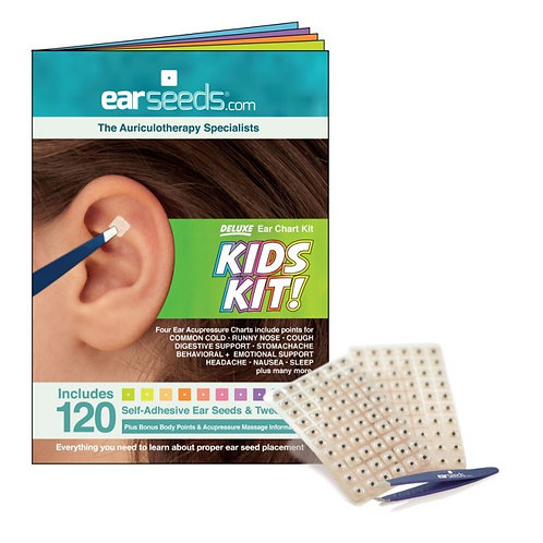 Auriculotherapy / Ear Acupressure - Kids Kit