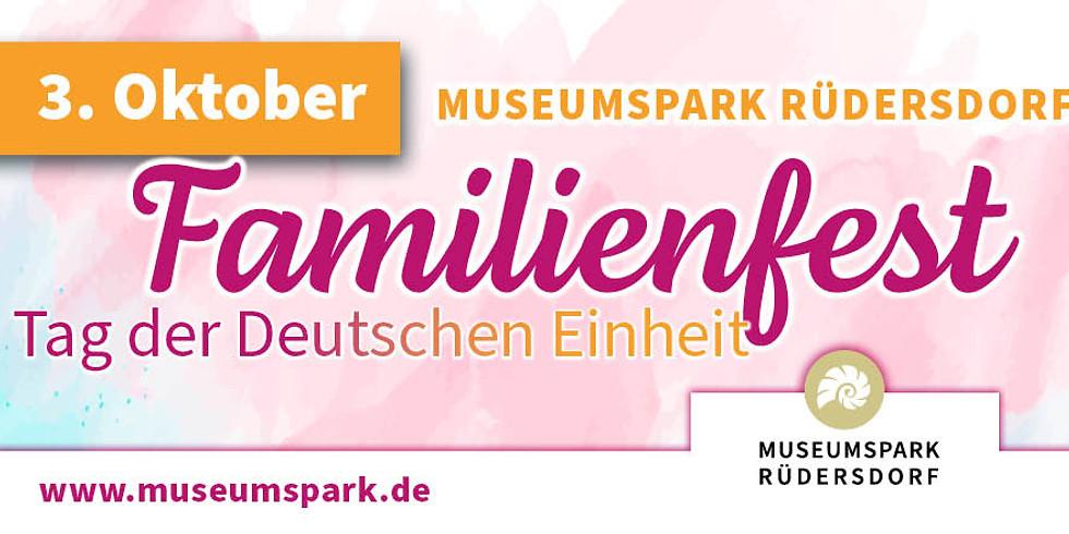 Familienfest zum Tag der Deutschen Einheit