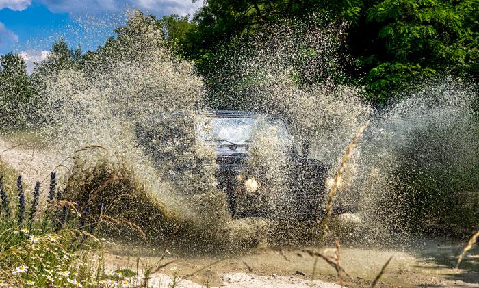 Spaß im Land Rover