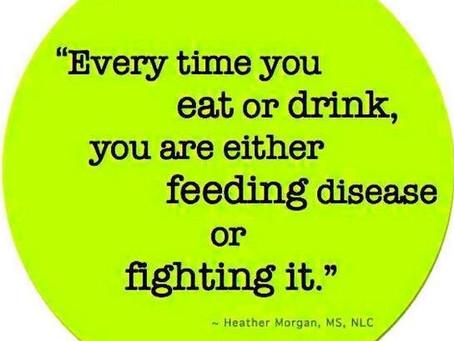 Feed Disease or FIGHT IT!