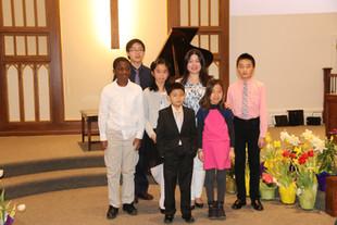 Fund raising recital at David's United Church of Christ