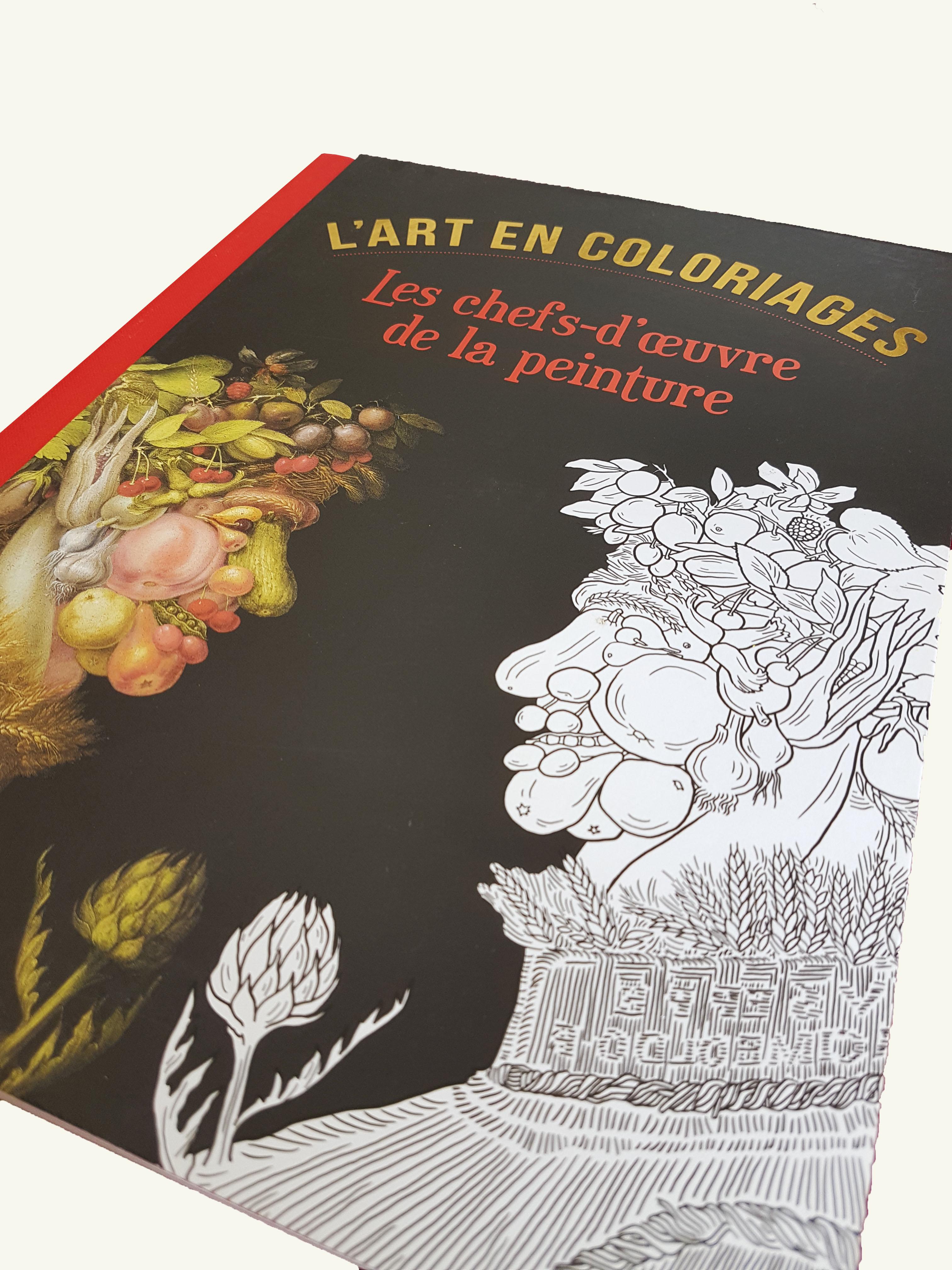 Coll L'art en coloriages