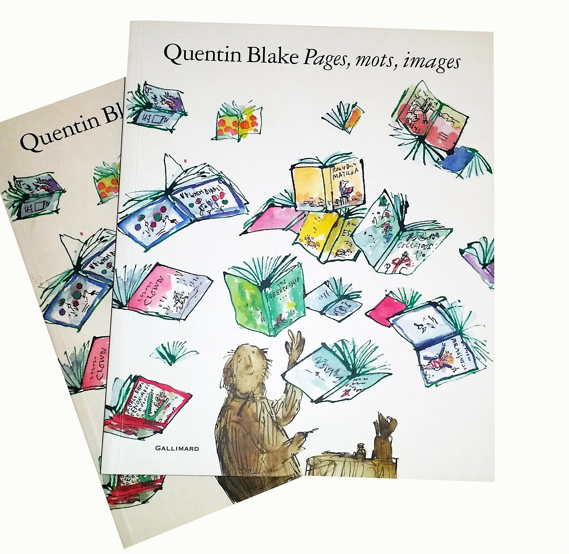 Quentin Blake Pages, mots, images