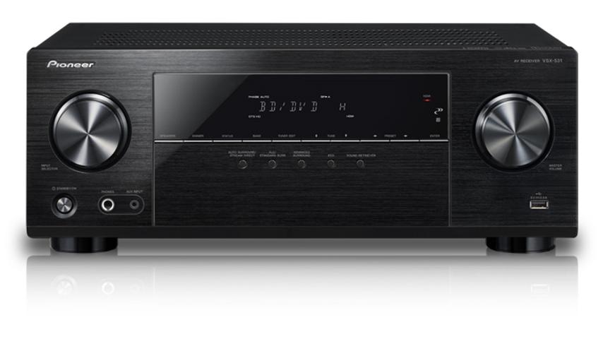 Pioneer VSX-531, 5.1- Bluetooth AV Receiver