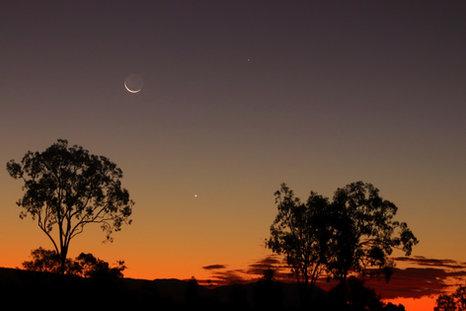 Moon, Venus & Mercury 22 May 2020
