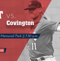 Covington playoff graphic
