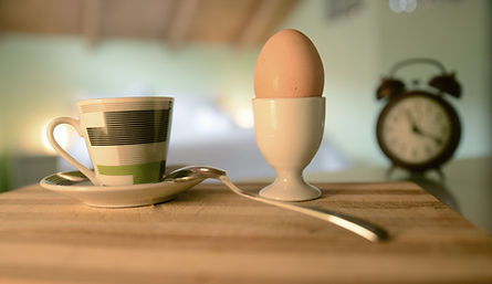 Fresh eggs for your breakfast from our farm in Agrotospita Country Houses in Nafplio