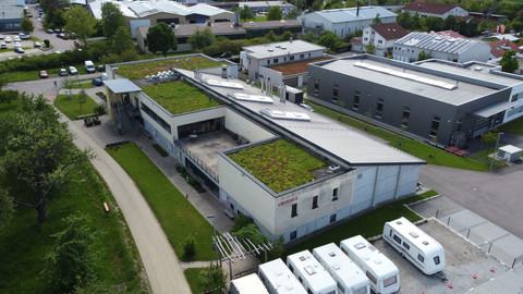 Neubau Produktionshalle