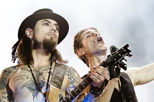 Dave Navarro e Perry Farrell, Lollapalooza Brasil, 2012