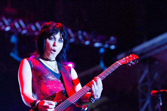 Joan Jett, Lollapalooza Brasil, 2012