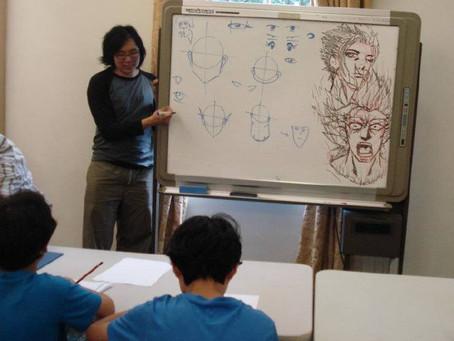 Manga, Cartooning and Comic drawing...all at LitFest2444
