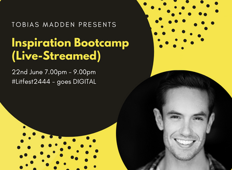 Tobias Madden presents 'Inspiration Bootcamp'.