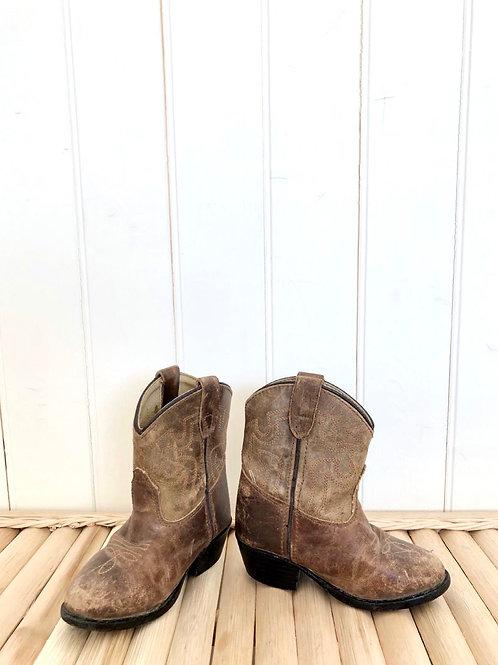 Vintage Cowboy Boots (Toddler, ?6/7)