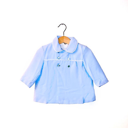 Baby Blue Vintage Jacket (approx. 1y)