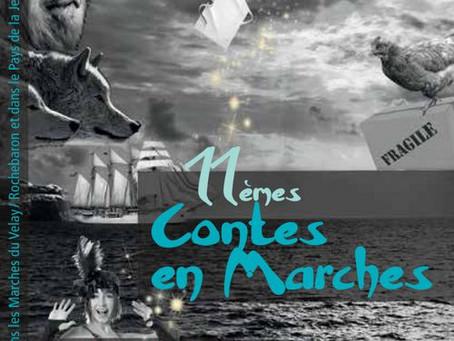 11ième EDITION DU FESTIVAL CONTES EN MARCHES
