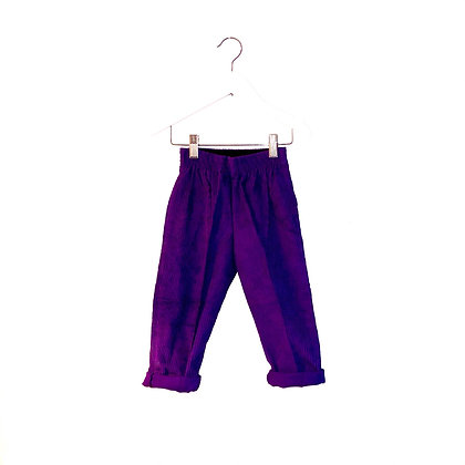 Vintage Purple Cords (unworn) (18m-3T - see measurements )
