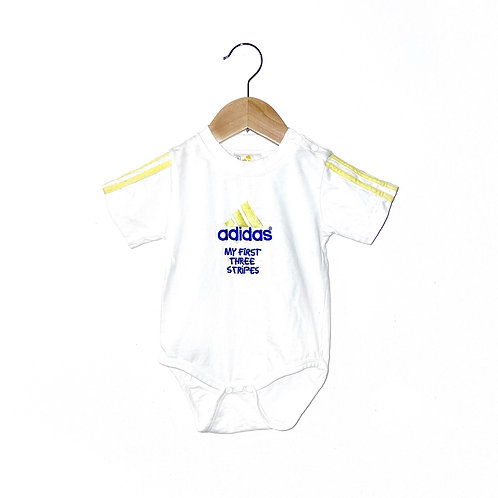 "Vintage Adidas ""My First Three Stripes"" Babygrow (Approx 12m)"