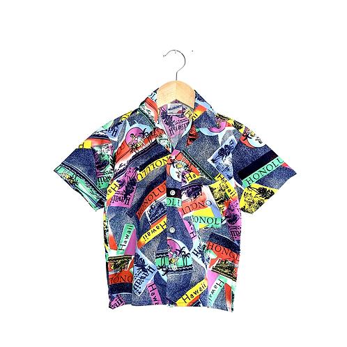 Vintage Hawaiian Shirt (4/5y)