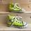 Thumbnail: Neon Yellow Hi Top Converse (UK6/EU22)