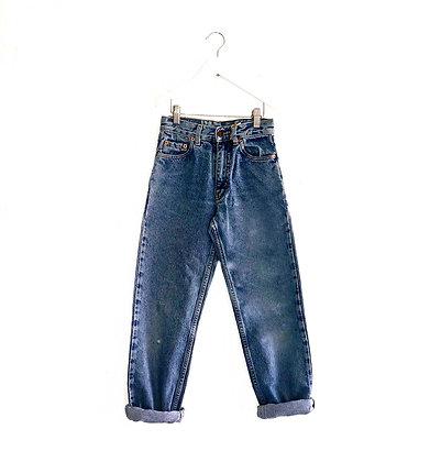 """Unworn Vintage LEE Jeans (W24"""" L27"""" Approx 8y+)"""