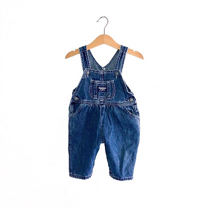 Vintage Oshkosh Denim Dungarees (6/9m)