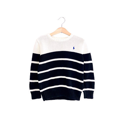 Vintage Striped Ralph Lauren Knitted Jumper (5/6y)