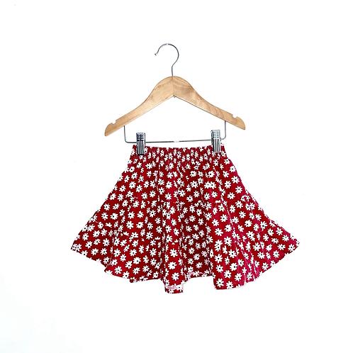 Vintage Floral Ra Ra Skirt (2/3y)
