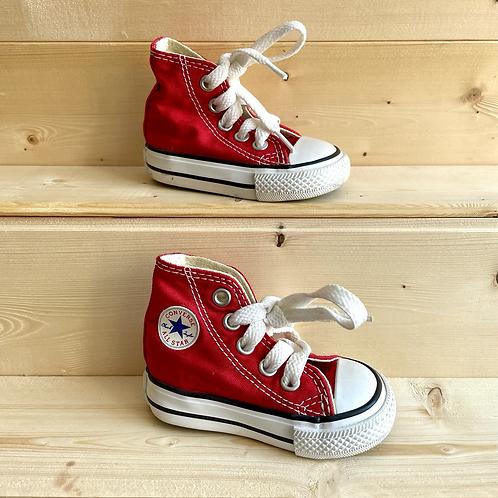 Red Hi Top Converse (UK2 Baby)